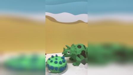 老婆为老公亲手做的蓝莓蛋糕