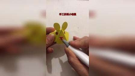 手工折纸小老鼠