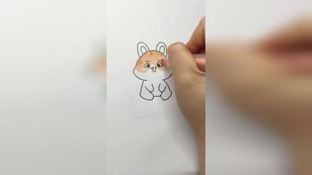 小兔叽#简笔画