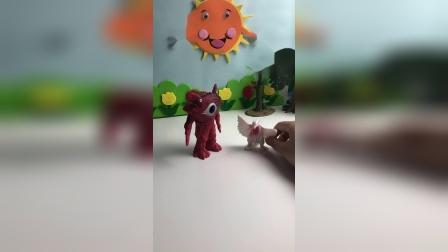怪兽到手的小孩不见了?