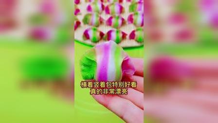 初一到初五不重样的新年彩虹饺