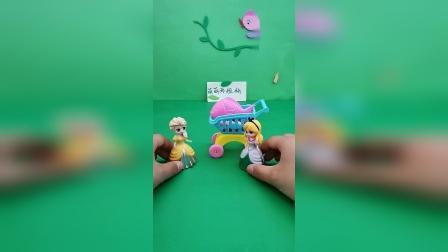 益智玩具:艾莎和美人鱼都不想做饭
