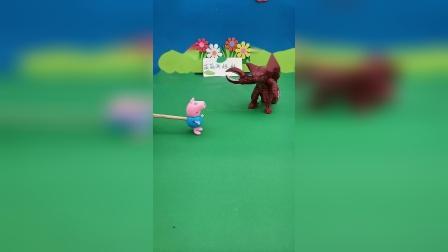 益智玩具:乔治把感冒传染给怪兽了