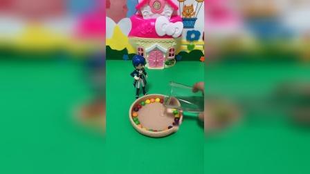 """益智玩具:王子给白雪做了""""彩虹"""",贝尔全给弄坏了"""