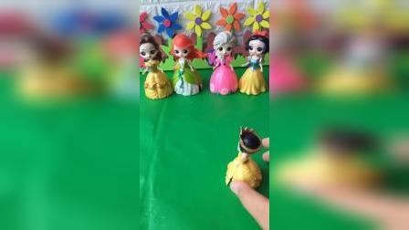 少儿玩具:我一定会跟公主们一样漂亮的