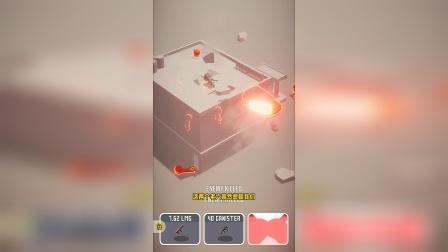 小游戏:小红人躲在楼里也无法活命
