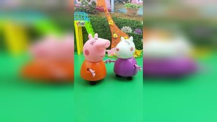 猪妈妈和苏西妈妈,说了它们的孩子