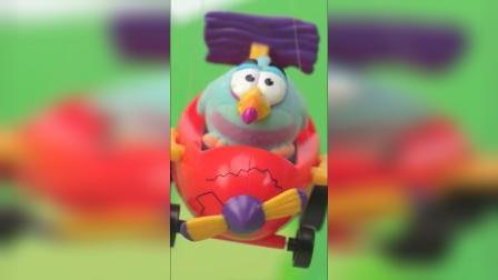 超级好玩的气球小车玩具