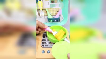 炒菜做饭儿童厨房过家家玩具
