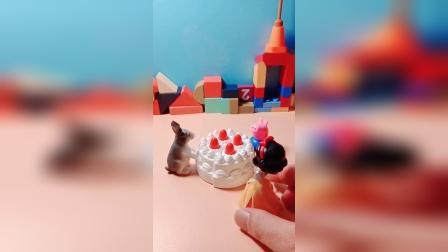 儿童益智玩具:小兔你今天不用上课吗