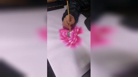 牡丹花的画法水彩画的画法
