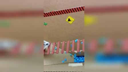 仓鼠历险记:这几段独木桥走的我心惊肉跳!