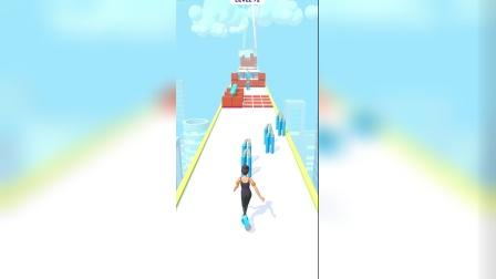 欢乐小游戏:铁棍上的滑行!