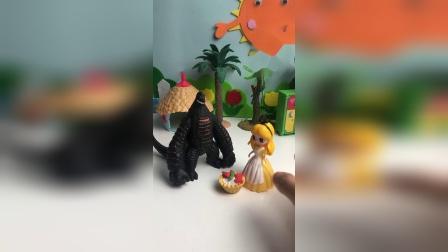 怪兽嘲笑灰姑娘