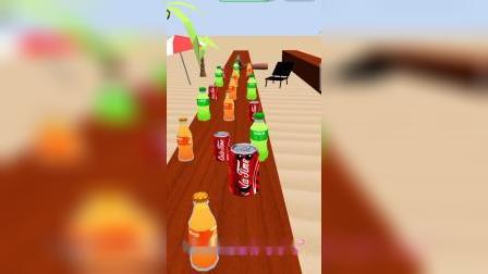 这瓶橙汁是在干什么啊