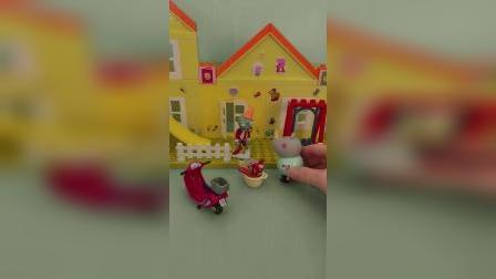 儿童玩具故事,下雨了