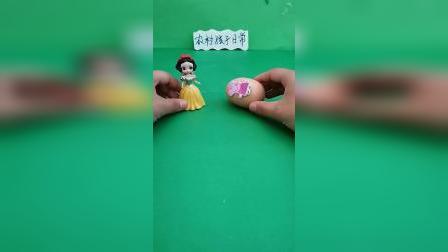 益智玩具:白雪帮助被封印的佩奇