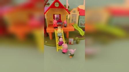 小猪佩奇的树屋
