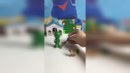 原来小狗是恐龙变的!