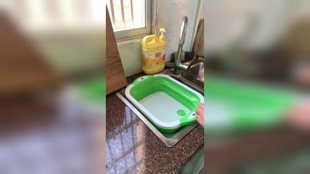 开箱:能切菜还能洗菜的菜板,你见过吗?