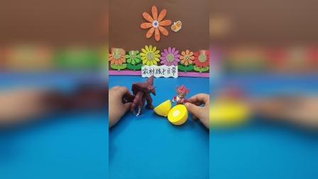 益智玩具:小奥特曼被怪兽封印了