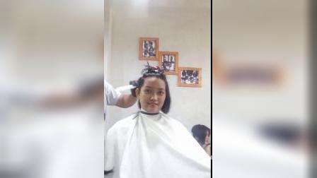 妹子剪个帅气短发