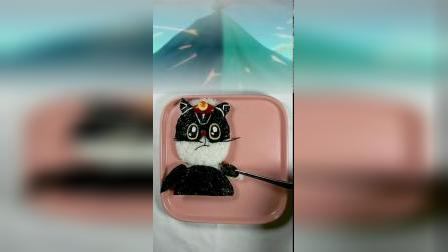 你们要的黑猫警长创意餐来咯