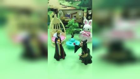 僵尸抓了白雪,女巫去通知贝儿公主!