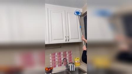 做清洁够不着的地方可以用这个