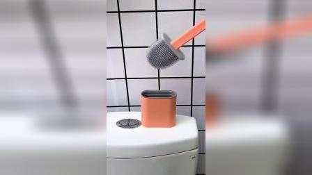硅胶马桶刷,居家的好物