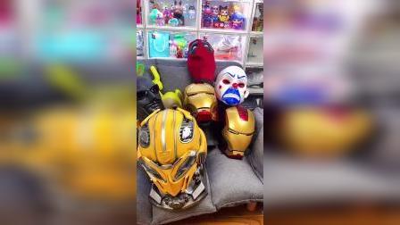 不知不觉收集了这么多头盔!
