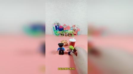 儿童益智玩具:警察叔叔你站在这里很久了吧
