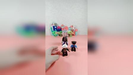 儿童益智玩具:这是谁扔在这里的僵尸玩具啊