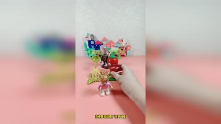 儿童益智玩具:我城堡最近总是被一群僵尸攻击