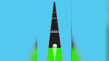 小游戏:黑球滚到多远了
