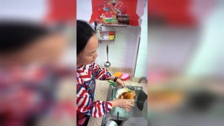 这个刷锅洗碗海绵去污能力太强了吧,刷的干干净净,看着真舒服