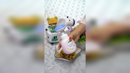 超可爱的小花洗手液,让你家宝宝爱上洗手,太赞了