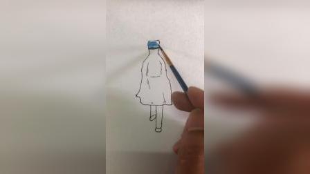 简笔画医生