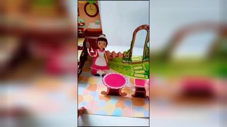 这个DIY的烘焙糖果屋你们觉得可吗?