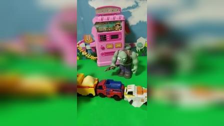 益智玩具:小头爸爸给车子加油