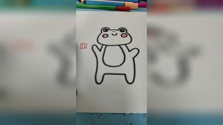 一只可爱的青蛙