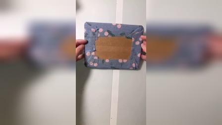 用小的快递纸箱做收纳盒!