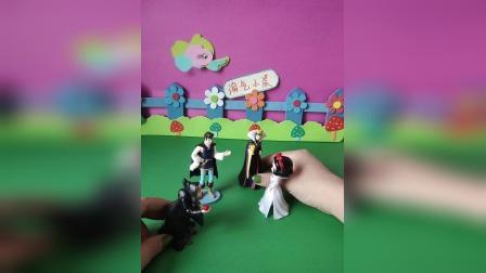 益智玩具:白雪答应了王子的求婚