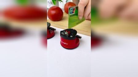 菜刀炖了不要扔,试试这个磨刀器