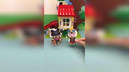 少儿玩具:对于小乐来说是精彩的一天