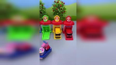 少儿玩具:你最喜欢哪辆车,我喜欢红色那辆