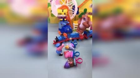 少儿玩具:熊大遇到小猪佩奇会发生什么
