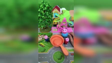 小猪佩奇: 妈妈不在家,猪爸爸不会做菜