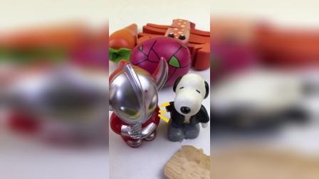 奥特曼切水果,火龙果切切乐玩具