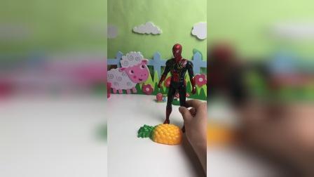 派大星送给蜘蛛侠什么?